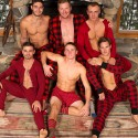 6 Guys,One Mountain Cabin,4 Days over 143 minutes of SEX..Sean Cody