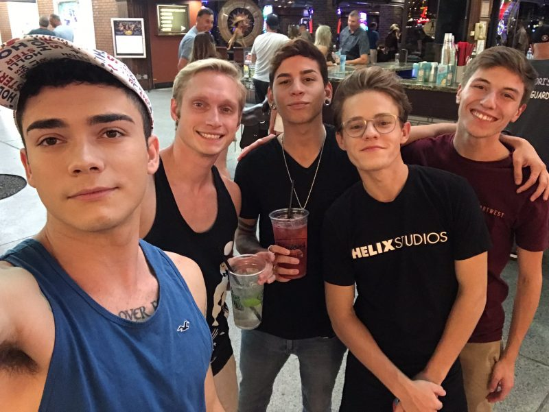 Ashtin Bates,Max Carter,Aiden Garcia,Brian Gibson and Keagan Case